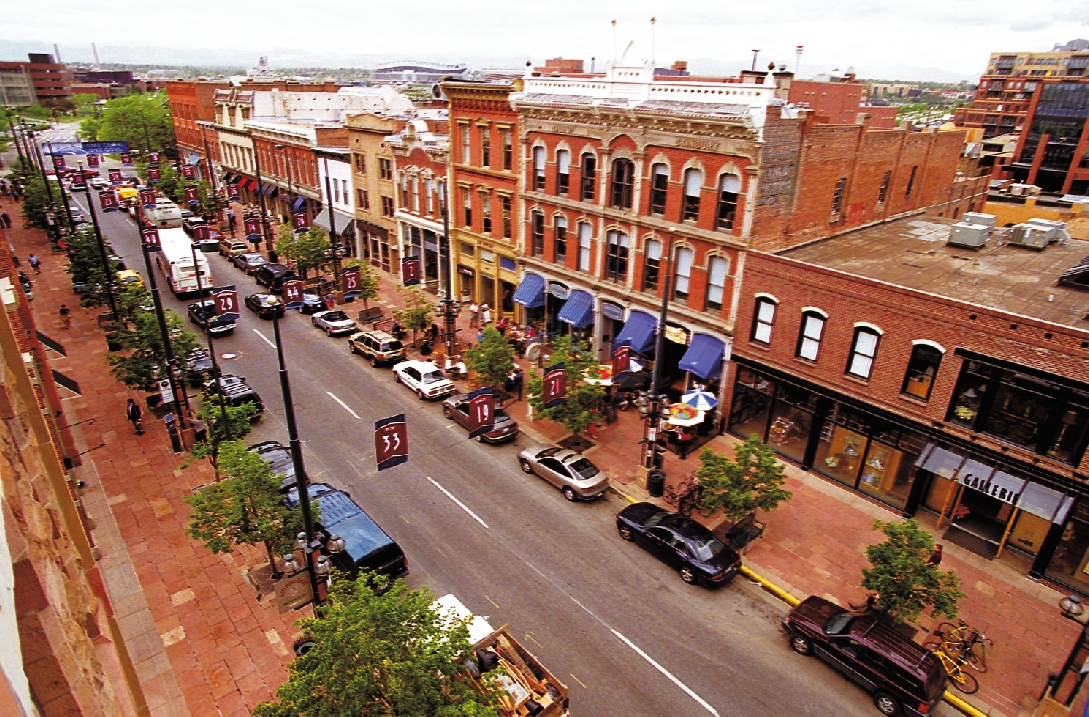Larimer Square in Denver's Lower Downtown