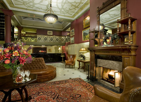 Lobby of The Oxford Hotel