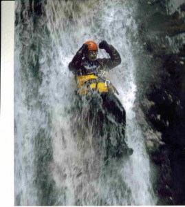 Tim Canyoning in New Zealand
