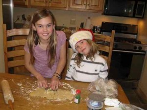 Cookie Baking with Sage and Noah